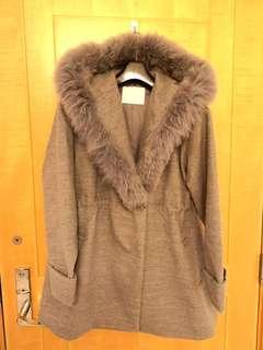 Cecil McBee Light Grey Winter Jacket 絨褸
