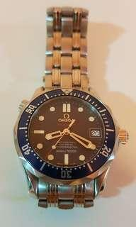 Authentic Omega Seamaster Mini Blue Dial automatic