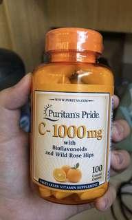 PURITAN's VITAMIN C 1000mg 100 tablets