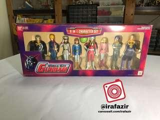 Mobile Suit GUNDAM 8 in 1 character set
