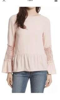 NWT Joie Pink Blouse Xs
