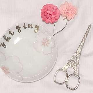 🚚 vday customised trinket tray