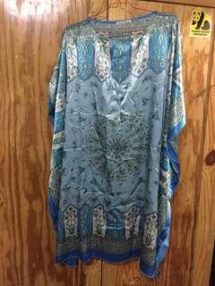 Chic simple silk dress
