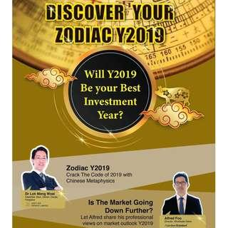Discover Your Zodiac Year 2019 Seminar