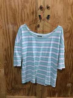 Old navy striped tosca top