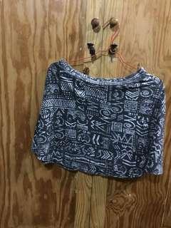 New look Abstract mini skirt