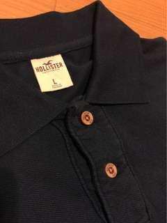 Hollister Polo Shirt (Navy)