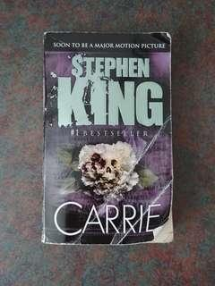 """Used book """"Carrie"""" By Stephen King"""