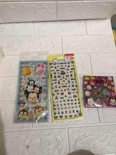 Tsum tsum 貼紙