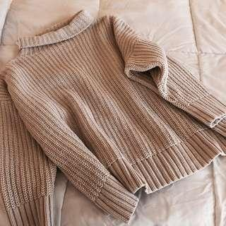 Aerie Oversized Chenille Turtleneck