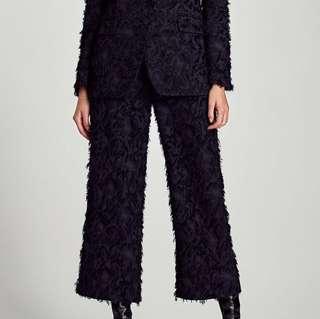 Zara Trousers with Slit Hem