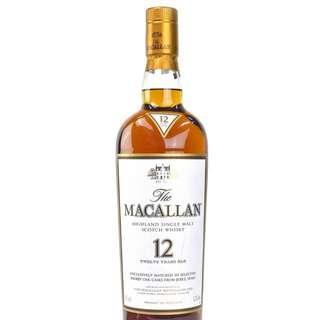 The Macallan Sherry Oak 12 Years Old, 1.75