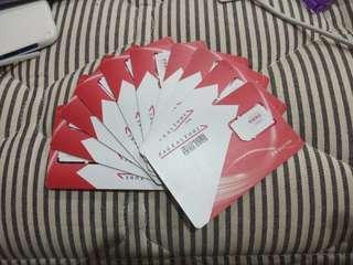 遠傳。台哥大。中華電信。亞太。台灣之星預付卡