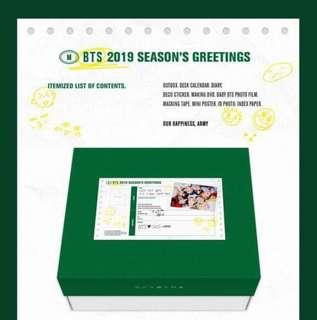 [WTB/LF] BTS - SEASON'S GREETINGS 2019