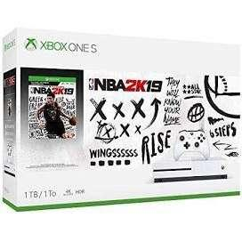 XBOX ONE S WITH NBA2K19