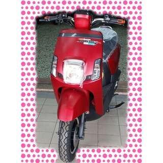 綠馳電動車E-Bike- AEO5 (碟煞版)(消光紅)-電動自行車/電動輔助自行車/電動機車/電動車