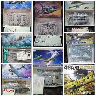 清位放戰機模型 3 (多谷)