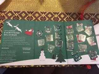 Starbucks 2018 Complete Stickers