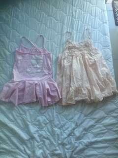 2  Prelove  kids swimwear and dress
