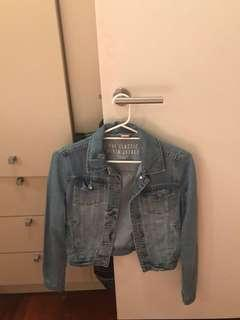 Denim Jacket Size 8 S