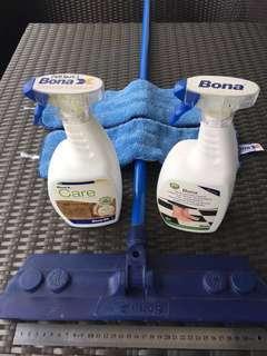 Bona floor care products