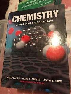 Chemistry: A Molecular Approach Second Canadian Edition