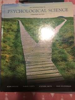 Introduction to Psychological Science: Canadian Edition