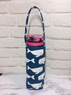 🚚 海藍白鯨🐳~手作水壺袋