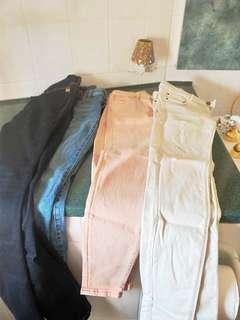 Bulk Jeans Size 8