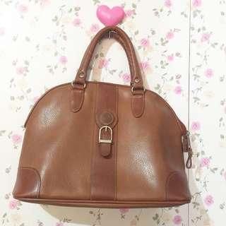 Authentic Leather Bag From Japan