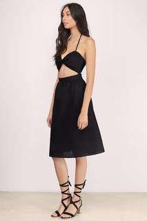 BNWT Tobi cutout midi dress