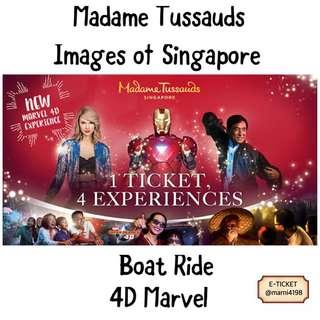 Madame Tussauds 4in1 Combo