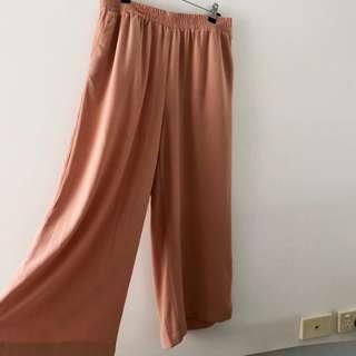 Glassons peach/salmon high waisted pants