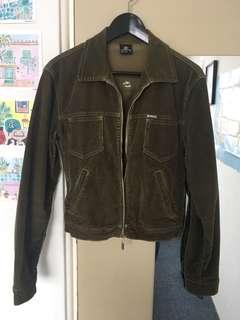 Billabong khaki corduroy jacket