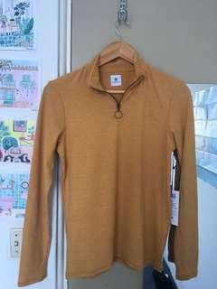 Element long sleeve yellow top