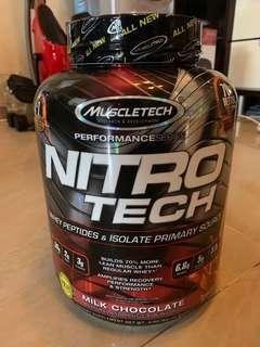 健身奶粉 MuscleTech Nitro Tech (in stock)