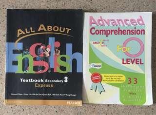 Secondary school English books