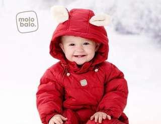 Baby Down Jumpsuit