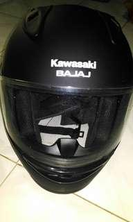 Helm Full Face Kawasaki Bajaj
