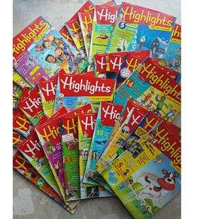 Highlights magazines (30 copies)