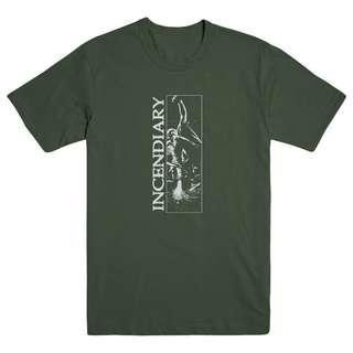 Incendiary Band T-shirt Sz L