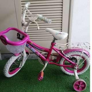 Used Pink Bike for Kids