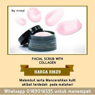 FACIAL SCRUB WITH COLLAGEN