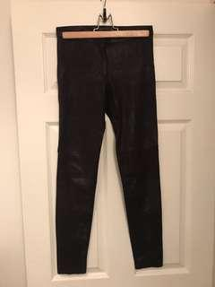 Zara Pants / Leggings with Shiny Sheen
