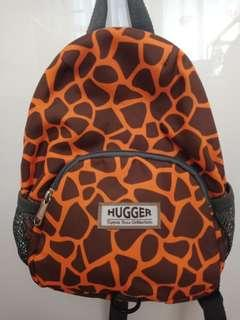 Hugger My Giraffe Totty Tripper Toddler's Backpack With Safety Harness