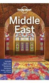Lonely Planet Middle East Guidebook