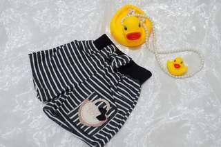 Celana pendek Bayi Strip