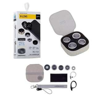 Amazing: MOMAX 4 in 1 Universal Clip on Phone Lense Kit #Gadget100