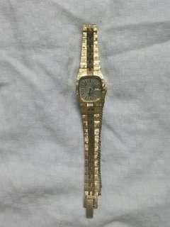 Sovil et titus swiss  automatic gold watch