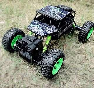 RC Car 4WD 2.4GHz Rock crawl Rally climbing Car 4x4 Double Motors Bigfoot Car Remote Control Model Off-Road Vehicle Toy